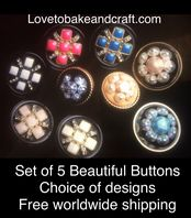 Pearl buttons, Done pearl buttons, Pearl shank buttons. Free worldwide shipping (2) (3) (4) (5) (7)